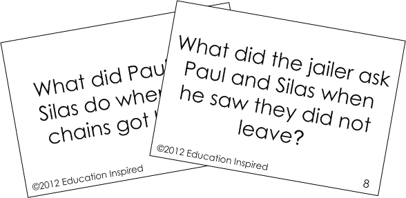 Paul and Silas Shake Free Education